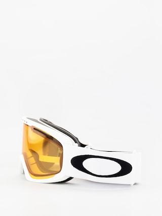 Oakley O Frame 2 0 Pro Xl Goggles (white/persimmon & dark grey)