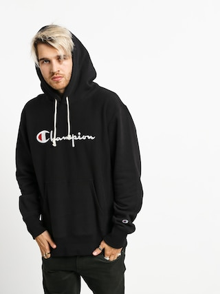 Champion Premium Reverse Weave Hooded Big Logo HD Hoodie (nbk)
