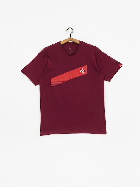 Es Script Stripe T-shirt (burgundy)