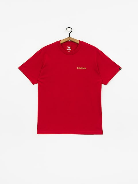 Emerica Pure Triangle T-shirt (cardinal)