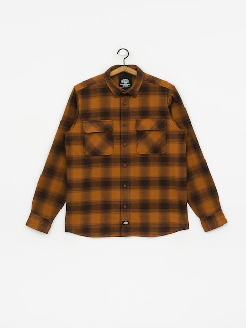 Dickies Waneta Shirt (brown duck)