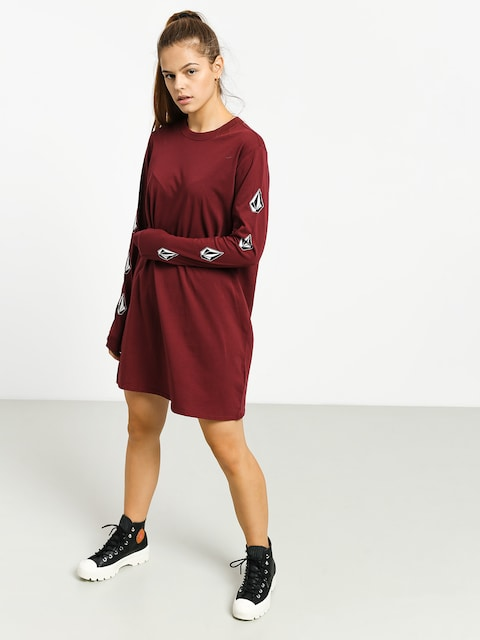 Volcom What A Trip Dress Dress Wmn (zinfandel)