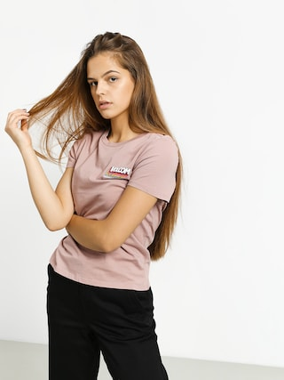 Volcom Stoked On Stone T-shirt Wmn (faded mauve)