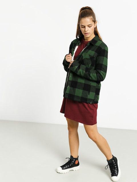 Volcom Plaid About You Shirt Wmn (green)