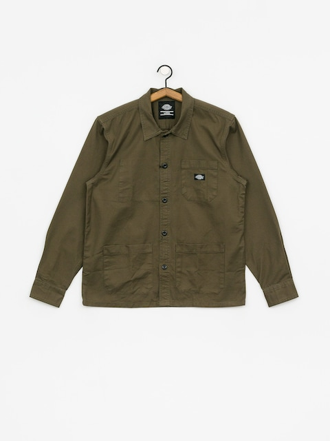 Dickies Caprock Shirt (dark olive)