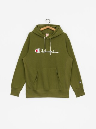 Champion Reverse Weave Hooded Big Logo HD Hoodie (cpo)