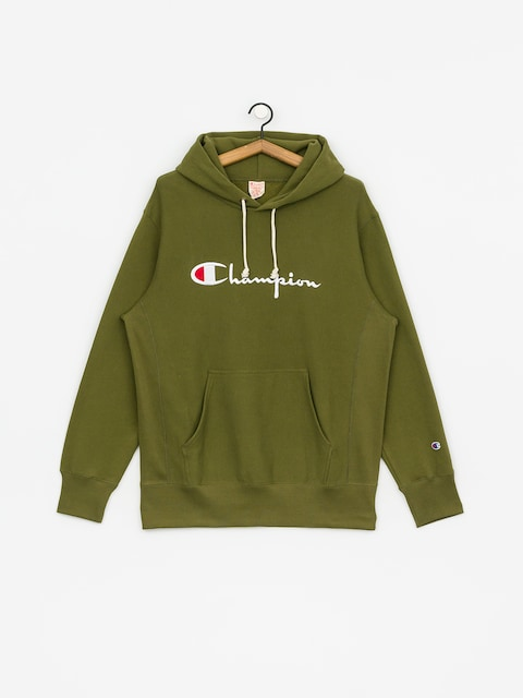 Champion Reverse Weave Hooded Big Logo HD Hoodie (cpo)