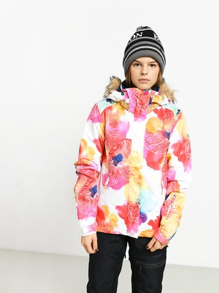 Roxy Jet Ski Snowboard jacket Wmn (aquarel flowers)
