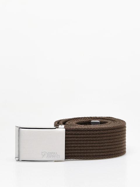 Fjallraven Canvas Belt (dark olive)