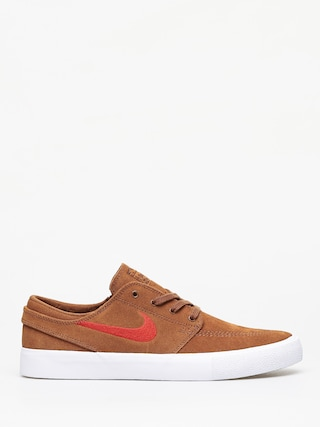 Nike SB Zoom Janoski Rm Shoes (lt british tan/mystic red white)