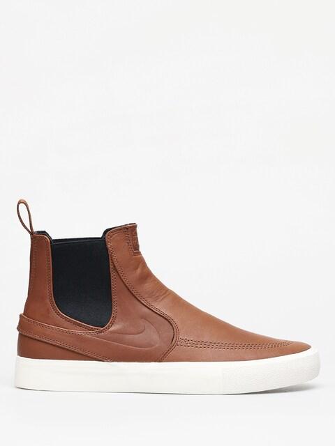 Nike SB Zoom Stefan Janoski Slip Mid Rm Shoes (lt british tan/lt british tan pale ivory)