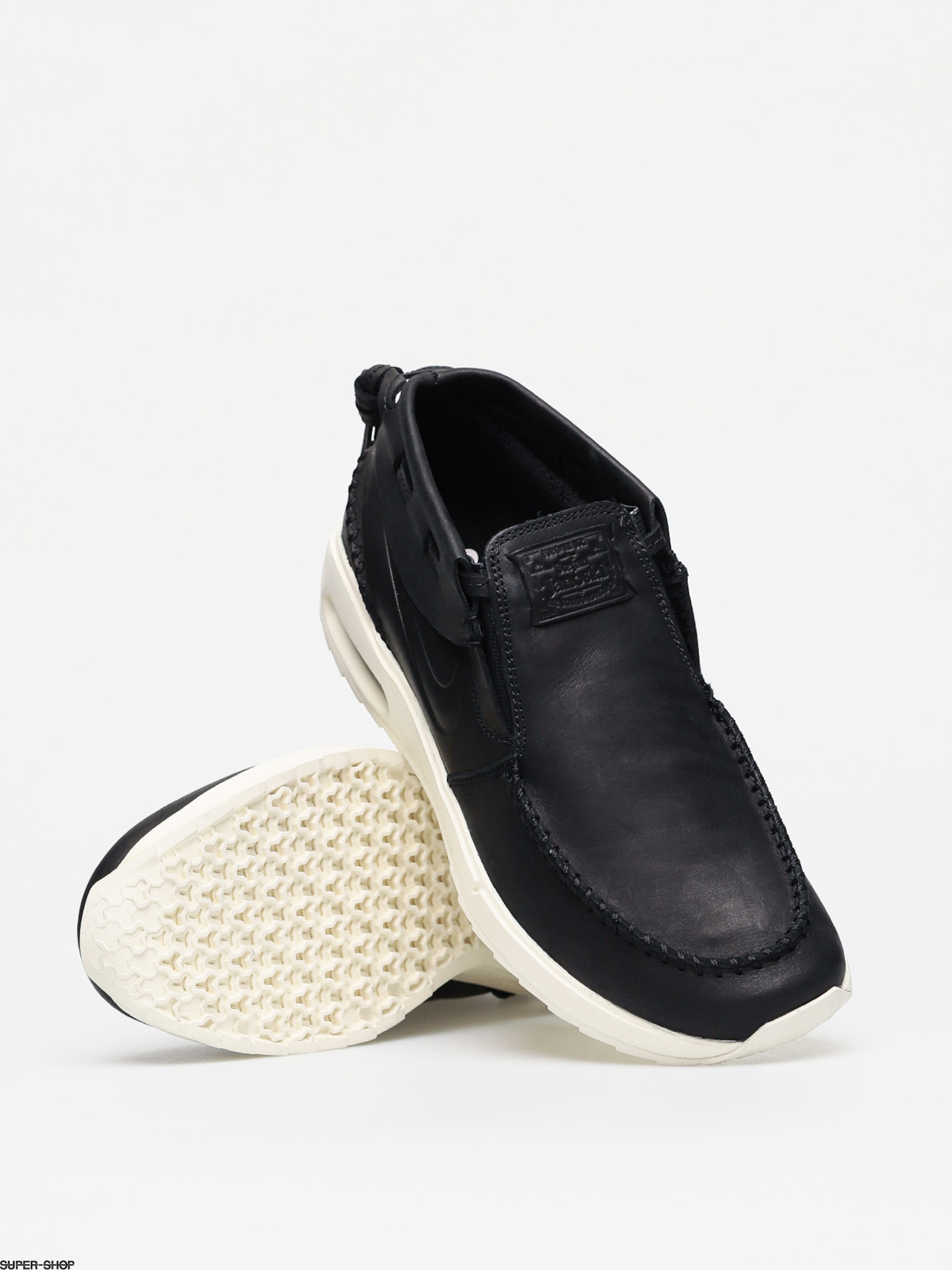Nike SB Air Max Stefan Janoski 2 Moc Shoes (black/black pale ivory)