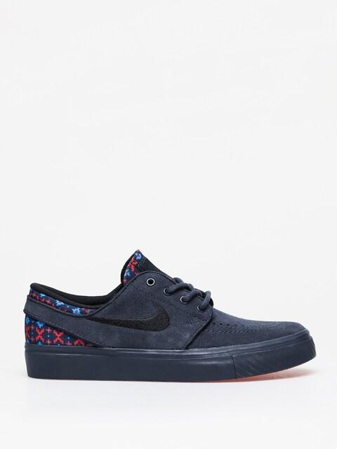 Nike SB Stefan Janoski Suede Premium Shoes (dark obsidian/black dark obsidian)
