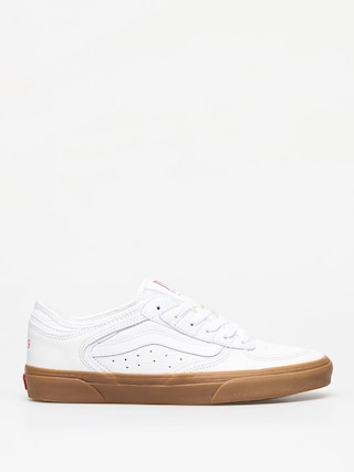 Vans Rowley Classic Shoes (true white/gum)