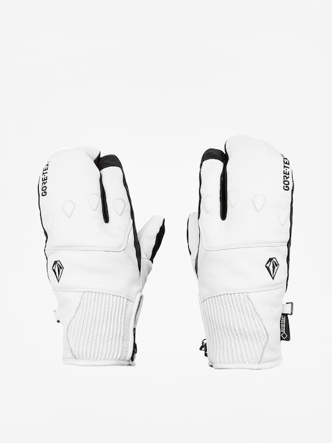 Volcom Provoke Gore Mitt Gloves (wht)