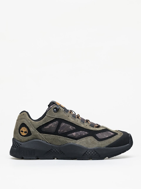 Timberland RipGorge Low Winter shoes (dk green suede wcamo)