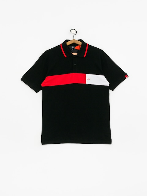 Es Mitga Polo t-shirt (black)