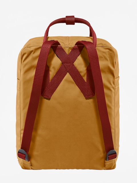 Fjallraven Kanken Backpack (acorn-ox red)