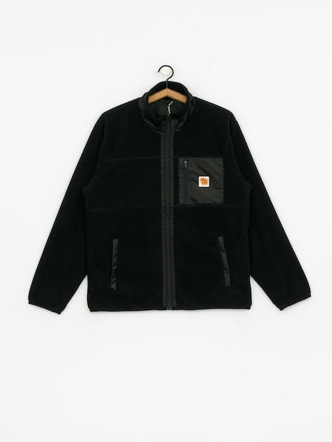 Turbokolor Fleece Label Jacket (black)