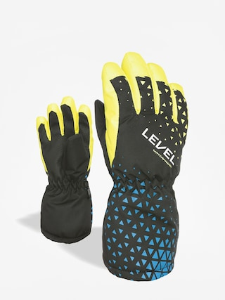 Level Funny Gloves (black yellow)