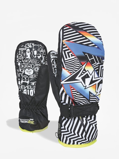 Level Junior Mitt Gloves (ninja black)