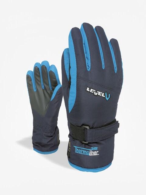 Level Junior Gloves (blue)