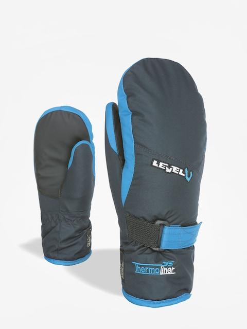 Level Junior Mitt Gloves (navy)