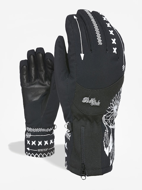 Level Bliss Emerald Gore Tex Gloves Wmn (black white)