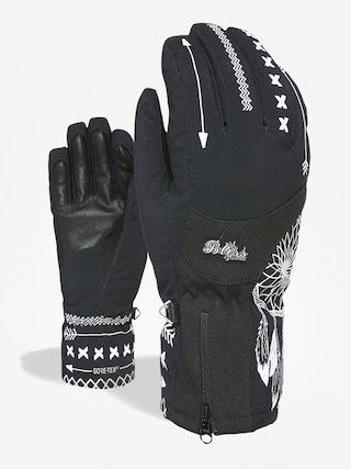Level Bliss Emerald Gore Tex Gloves Wmn (black white)