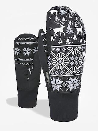 Level Bliss Coral Mitt Gloves Wmn (ninja black)