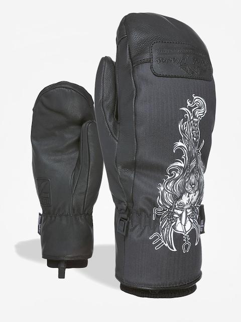 Level Joker Mitt Gloves (black white)
