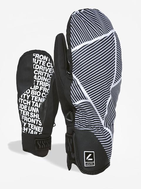 Level Suburban Mitt Gloves (black white)