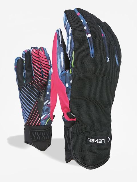 Level Suburban Rider Issue Gloves (pk rainbow)