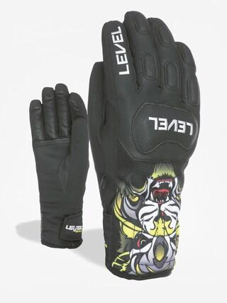 Level Race Jr Gloves (pk black)
