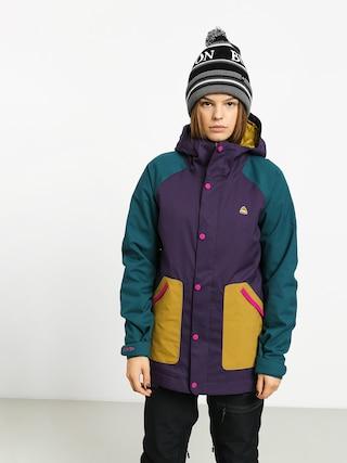 Burton Eastfall Snowboard jacket Wmn (velvet/dpteal/evilo)
