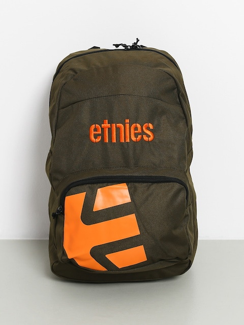Etnies Locker Backpack (green/orange)