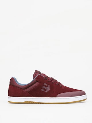 Etnies Marana Shoes (burgundy/white)