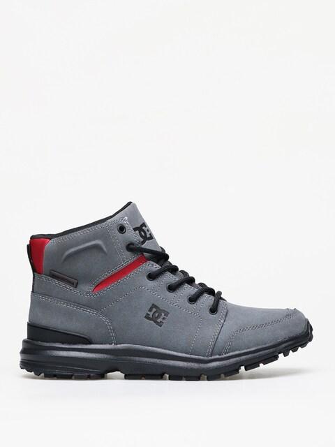 DC Torstein Winter shoes (grey/black/red)