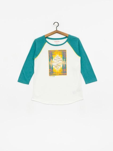 Burton Ashmore Rgln T-shirt Wmn (stowht/gbslat)