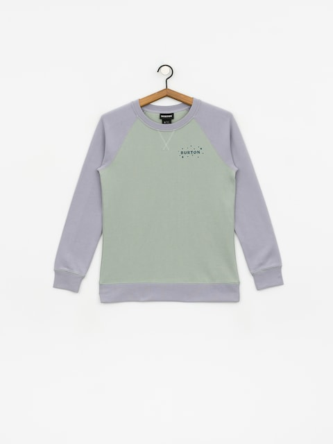 Burton Keeler Crew Sweatshirt Wmn (aquagr/lilac)