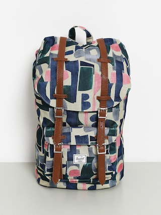 Herschel Supply Co. Little America Backpack (abstract block)