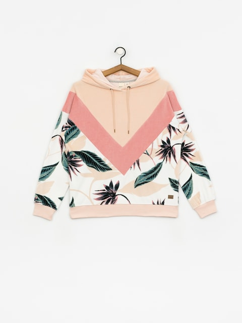Roxy Chasing Waves HD Hoodie Wmn (snow white lunar flo)