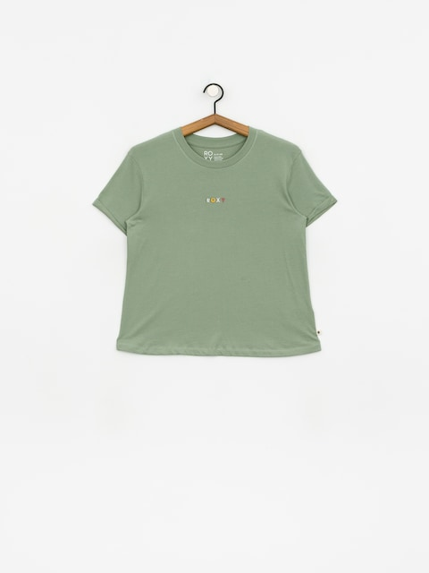 Roxy Surfing In Rhythm T-shirt Wmn (lily pad)