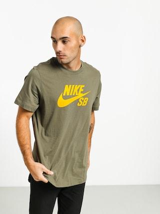 Nike SB Sb Dri Fit T-shirt (medium olive/dark sulfur)
