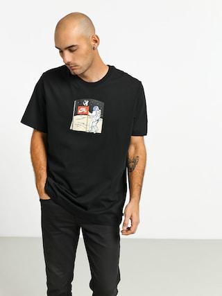 Nike SB Fake Landing Fs T-shirt (black/multi color)
