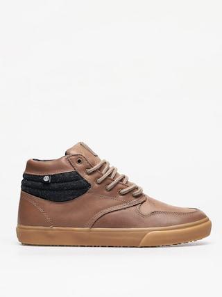 Element Topaz C3 Mid Shoes (walnut pullup)