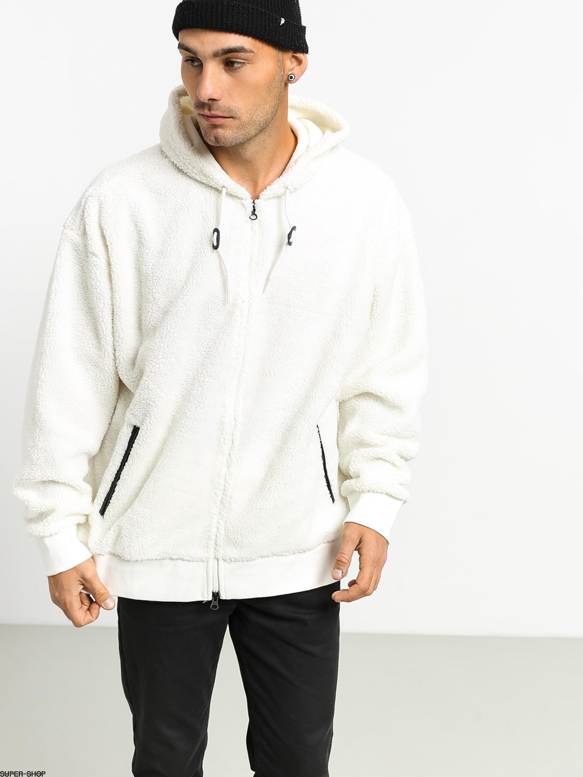 Nike SB Sherpa Hoodie Sail Black