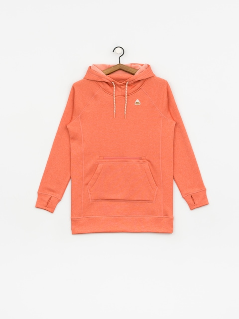 Burton Oak Long HD Hoodie Wmn (crabapple heather)