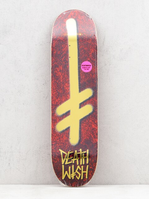 Deathwish Gang Logo Holy Deck (red/gold)