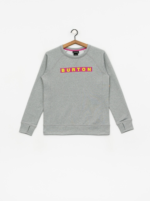 Burton Oak Crew Sweatshirt Wmn (gray heather)